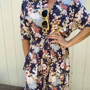 NWT Toast Floral One Piece